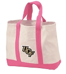 University of Central Florida Tote Bags Pink