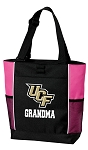 University of Central Florida Grandma Tote Bag Pink