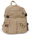 UCF Canvas Backpack Tan