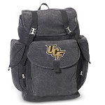 Central Florida LARGE Canvas Backpack Black