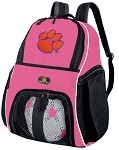 Girls Clemson University Soccer Backpack or Clemson Tigers Volleyball Bag
