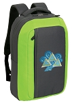 Tri Delt SLEEK Laptop Backpack Green