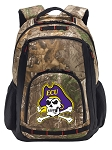 ECU Pirates RealTree Camo Backpack