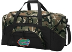 Official University of Florida Camo Duffel Bags