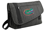University of Florida Messenger Laptop Bag Stylish Charcoal