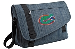 University of Florida Messenger Laptop Bag Stylish Navy