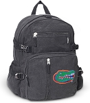 Florida Gators Canvas Backpack Black