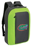 University of Florida SLEEK Laptop Backpack Green