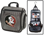 Florida State University Toiletry Bag or Shaving Kit Gray