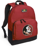 FSU Backpack CLASSIC STYLE Red