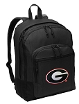 University of Georgia Backpack - Classic Style