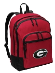 Georgia Bulldogs Backpack CLASSIC STYLE Red