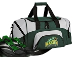 SMALL George Mason University Gym Bag GMU Duffle Green