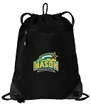 GEORGE MASON Drawstring Backpack-MESH & MICROFIBER