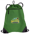 GEORGE MASON Drawstring Backpack Mesh and Microfiber