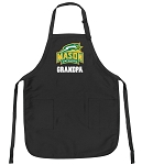 Official George Mason Grandpa Apron Black