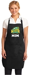 Official George Mason Mom Apron Black