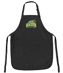 Official George Mason University Apron Black