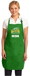 Deluxe George Mason Mom Apron MADE IN THE USA Green