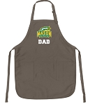 Official GMU Dad Apron Tan