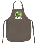 Official GMU Grandpa Apron Tan
