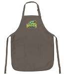 Official GMU Logo Apron Tan