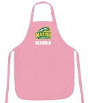 Deluxe George Mason Grandma Apron Pink - MADE in the USA!