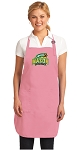 Deluxe George Mason University Apron Pink - MADE in the USA!