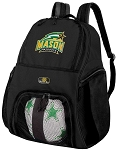 George Mason University Soccer Backpack or GMU Volleyball Bag For Boys or Girls