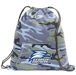 Georgia Southern Drawstring Backpack Blue Camo