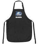 Official Georgia Southern Grandpa Apron Black