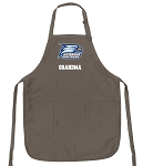 Official Georgia Southern Grandma Apron Tan
