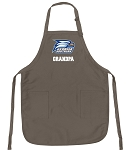Official Georgia Southern Grandpa Apron Tan