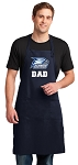 Georgia Southern Dad Apron LARGE Navy