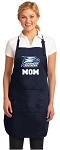 Georgia Southern Mom Apron Navy