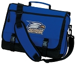 Georgia Southern Messenger Bag Royal