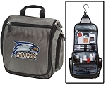 Georgia Southern Eagles Toiletry Bag or Georgia Southern Shaving Kit Organizer for Him Gray