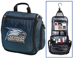 Georgia Southern Eagles Hanging Travel Toiletry Bag or Georgia Southern Shaving Kit Organizer for Him Navy