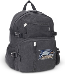 Georgia Southern Canvas Backpack Black