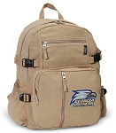 Georgia Southern Canvas Backpack Tan