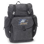 Georgia Southern LARGE Canvas Backpack Black