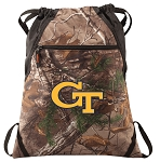Georgia Tech RealTree Camo Cinch Pack