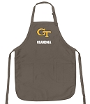 Official Yellow Jackets Grandma Apron Tan