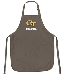 Official Yellow Jackets Grandpa Apron Tan