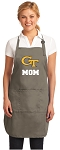 Georgia Tech Mom Deluxe Apron Khaki