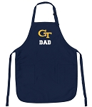 Georgia Tech Dad Apron Navy