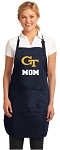 Georgia Tech Mom Apron Navy