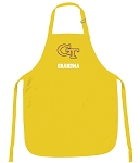 Georgia Tech Grandma Apron Yellow - MADE in the USA!