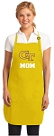 Georgia Tech Mom Apron Yellow - MADE in the USA!