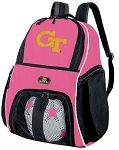 Girls Georgia Tech Soccer Backpack or GT Yellow Jackets Volleyball Bag